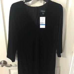 Karen Kane velvet dress